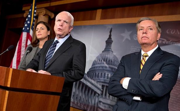 John McCain, Kelly Ayotte, Lindsey Graham
