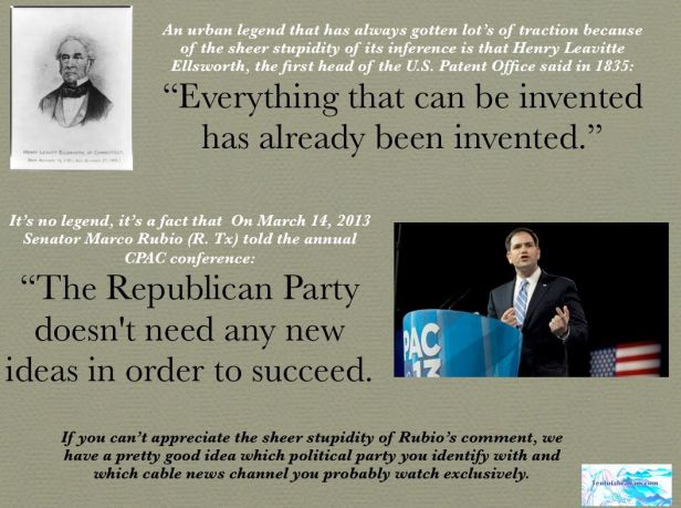 The Wisdom of Marco Rubio