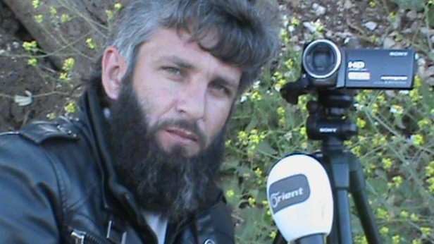 Yarmouk Martyrs Brigade spokesperson Laeth Horan (photo credit: Laeth Horan/Facebook)