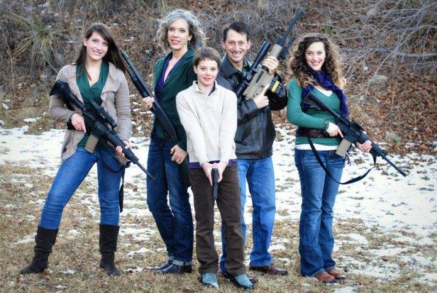 The family of Republican Colorado State Senator Greg Brophy.