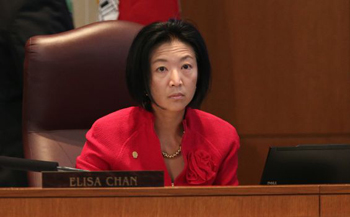 When asked about the hateful, homophobic conversation San Antonio city council member Elisa Chan had with her staff, she responded that it was her First Amendment Right to Be Homophobic