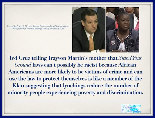 Ted Cruz: Stand Your Ground Laws Are Good For African Americans