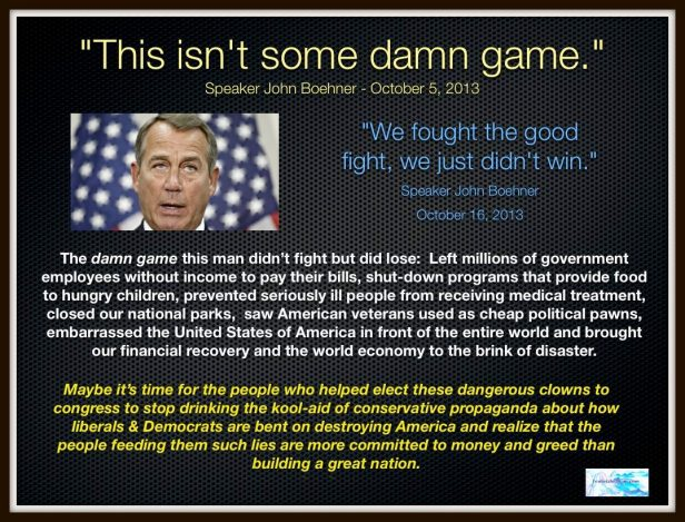 The Game the Republicans Didn't Play But did Lose