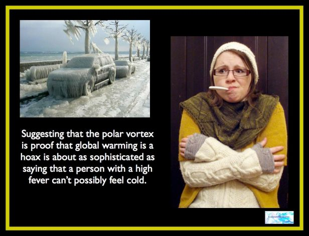 Who Can Believe in Global Warming After All That Cold?