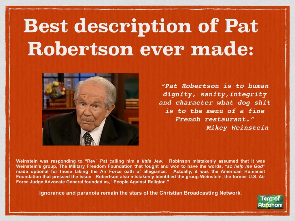 Pat robertson homosexuality