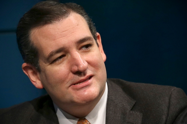 U.S. Senator Cruz speaks during fifth annual Washington Ideas Forum at the Newseum in Washington