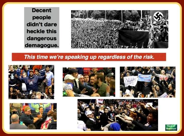heckling hate