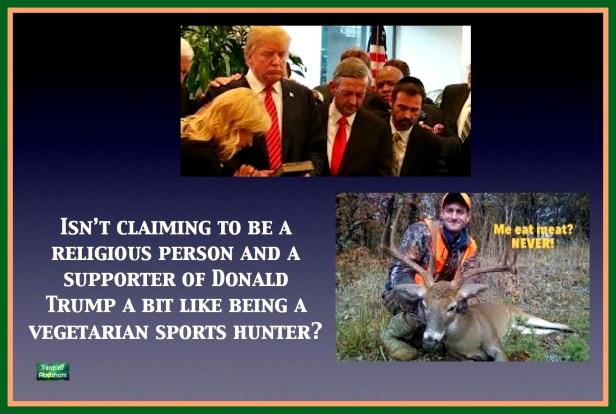 hunting trump