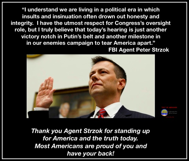 thank you agent Strzok