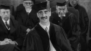 Groucho-as-Professor